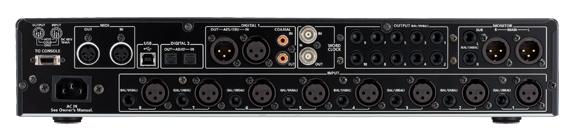 Cakewalk V700 Audiointerface Rückseite / Anschlüsse
