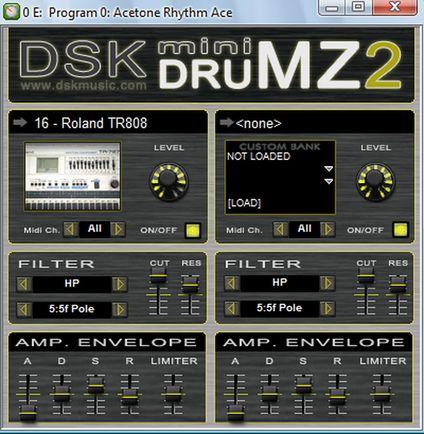 DSK Minidrumz 2 VST Drumcomputer Plugin