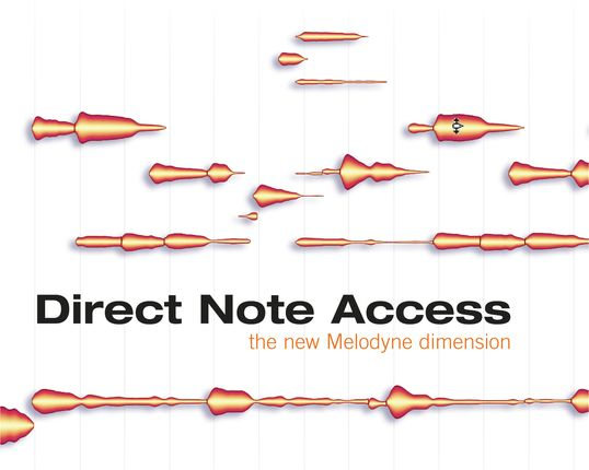 Celemony Melodyne Direct Note Access