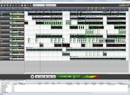Mixcraft Audio Midi Sequencer 4.5