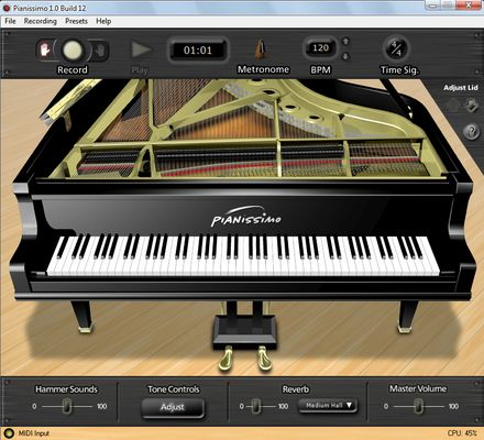 Pianissimo Virtual Steinway Grandpiano