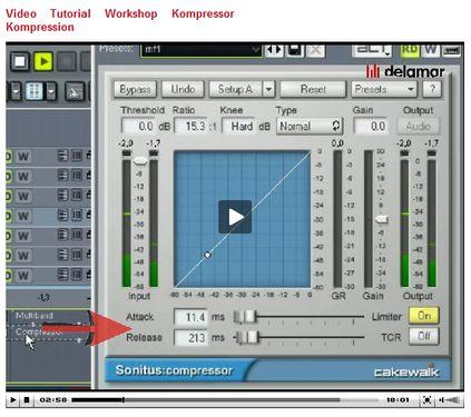 Kompressor Tutorial auf www.delamar.de