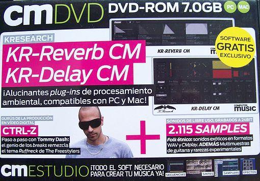 Computer Music spanisches Audio Fachmahazin mit Riesen Software Beigabe.