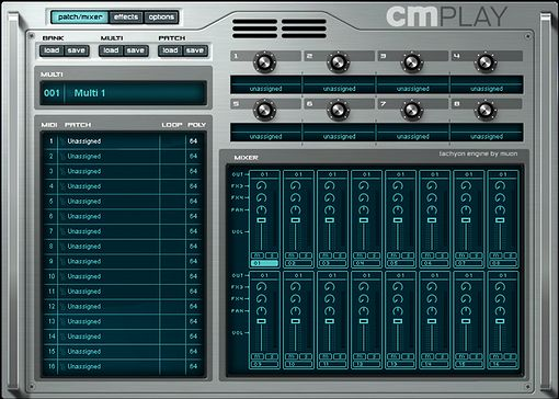 CMplay Sampleplayer / Rompler