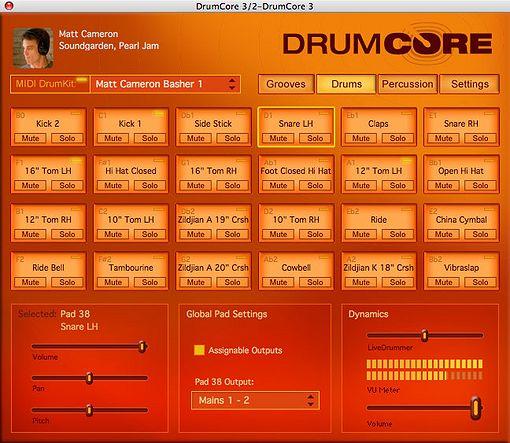Drumcore 3 Drumkit Auswahl