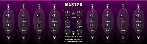 Ronald Passion Master EQ, Equalizer Plugin
