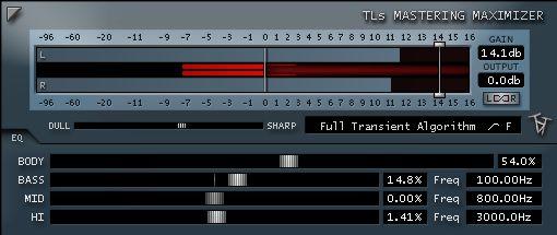 TLS Mastering Limiter