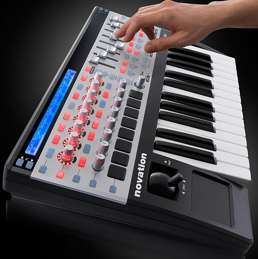 Novation SL MK II Midi Controller Keyboard mit Automap Software