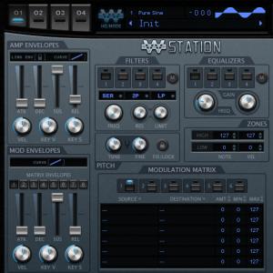 WusikStation 5.8.6 neuer Skin