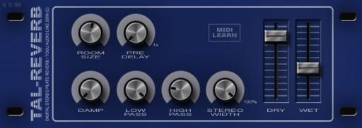Togu Audio Line, TAL-Reverb