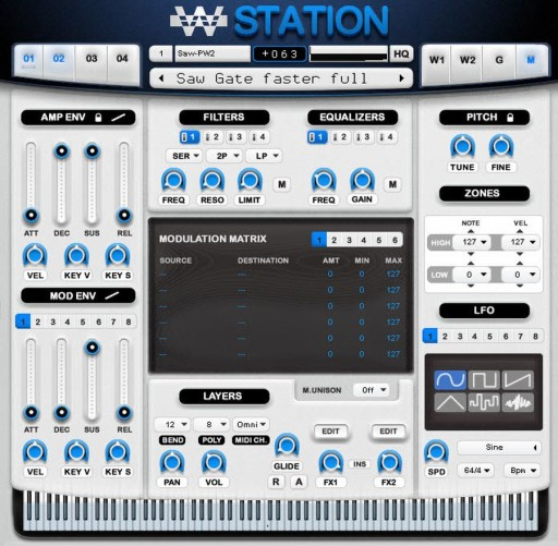 WusikStation Update 5.8.6 White Skin