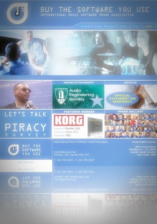 Weltweite Umfrage zum Diebstahl von Musiksoftware