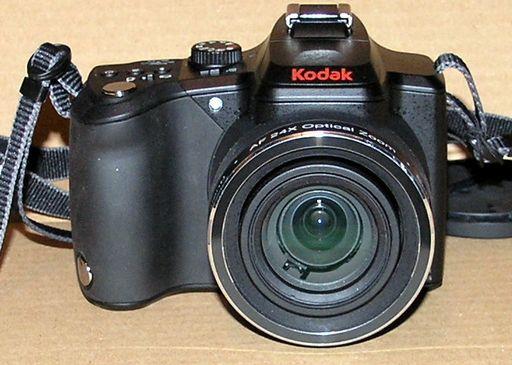 Kodak Easyshare Z980 Frontansicht