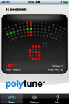 TC Polytune für das iPhone chromatic screen