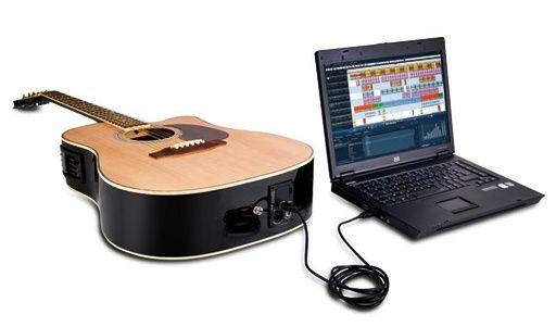 Jammin Pro - USBAcoustic505 USB Gitarre