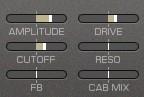 Feste Modulationsziele des REAKTOR Spark von Native Instruments