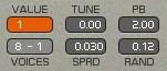 Sark Control für Tuning, Pitchbend und Verstimmungen