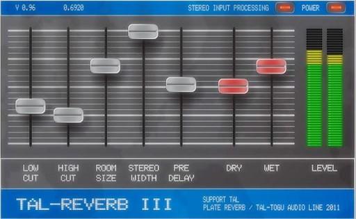 TAL-Reverb-III Plattenhall gratis