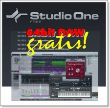 Presonus - Studio ONE 2 - FREE APPLE + WINDOWS DAW