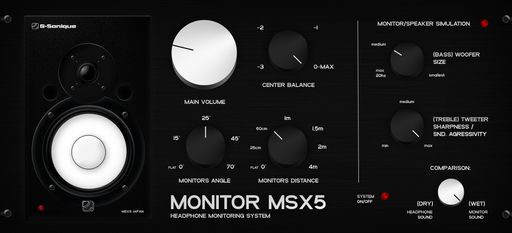 Review G-Sonique Monitor MSX5
