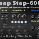 Deep Step 606 Step Sequencer mit integriertem Synth, gratis