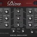 Betaversion von U-HE Diva mit digitalem Oszillator