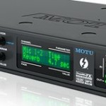 Audio-Interface  828x von MOTU jetzt neu mit Thunderbolt-Technologie und USB 2.0