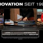 Novation: gratis Sound-Pack, Video & Song-Contest