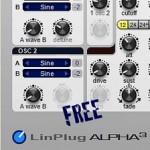 Gratis Synthesizer Plugin in 32 und 64bit für MAC und Windows, FreeAlpha 3.3 von LinnPlug