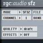 SFZ SoundPlayer, gratis SF2 SoundFile Player, wir bauen uns einen Rompler!