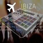 Auf nach Ibiza zur eigenen Performance im Club, mit M-Audio und Trigger Finger Pro!
