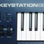 Preiswerte Masterkeyboards von M-Audio, die Keystation MKII Serie
