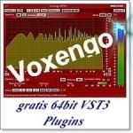 Voxengo viele gute VSTfx und AU Plugins gratis auch in 64 bit und als VST3