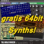 Gratis Synth Plugin Legenden nun auch in 64 bit