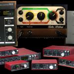 FOCUSRITE bietet gratis zu seinen Audio-Interfaces das TIME & TONE Bundle von SOFTUBE