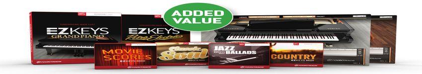 TOONTRACK EZkeys Pianos - Added Value