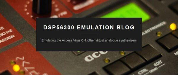 DSP56300 Emulation Blog